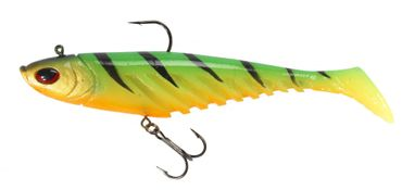 Berkley Giant Flat Ripple Prerigged Swimbait 23cm Gummifisch – Bild 2