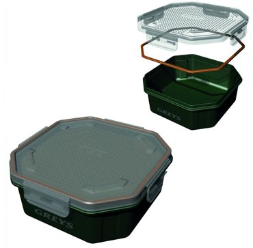Greys Klip-Lok Perforated Köderbox 1,36 l