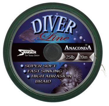 Anaconda Diver Line 20m Karpfenvorfach 25lbs – Bild 1