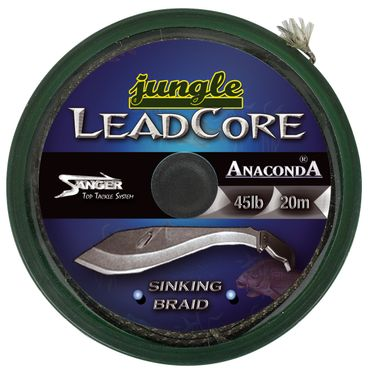 Anaconda Jungle Leadcore 20m Karpfenvorfach 25lbs – Bild 1