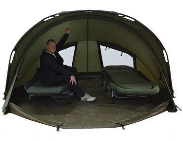 Ehmanns HOT SPOT SX 2 Man XLarge Bivvy Bundle Zelt – Bild 3