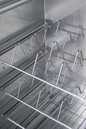 SMOKI - Räuchertechnik Fischkorb 34x25cm, verchromt – Bild 1