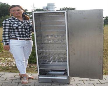 SMOKI - ISOLIERTER Räucherofen 150x39x33cm aus aluminiertem Stahl Räucherschrank – Bild 1