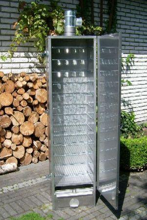 SMOKI - ISOLIERTER SMOKI-Räucherofen 85x39x33cm aus FAL-Stahlblech