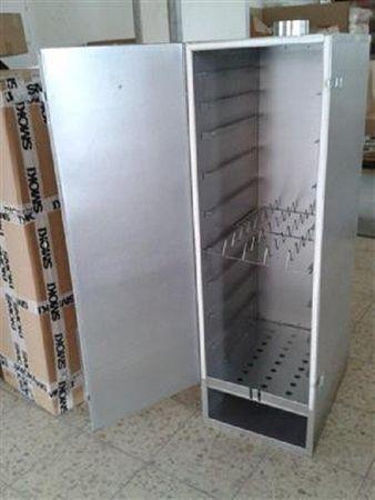 SMOKI - Jumbo Räucherofen doppelwandig isoliert 125x39x53 cm FAL für 16 Roste – Bild 4