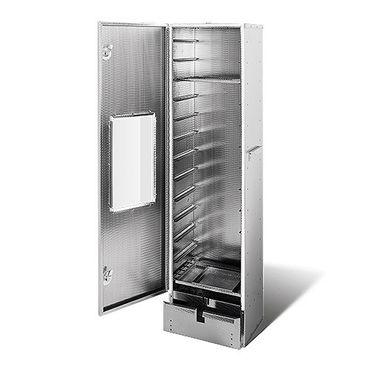 SMOKI - Räuchertechnik Räucherofen 150x39x33cm aus geprägtem 1.4016 Cr-Edelstahl mit Sichtfenster – Bild 1
