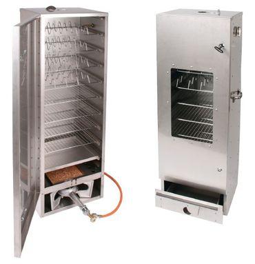 SMOKI - Räuchertechnik Räucherofen 85x39x33cm Smoki mit Scheibe FAL 8512 – Bild 2