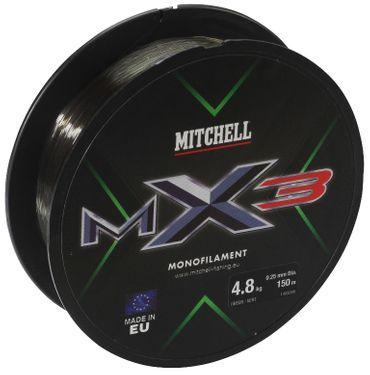 Mitchell MX3 Low Vis Green 150m Angelschnur div. Durchmesser – Bild 2