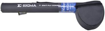 Shakespeare Sigma Fly Combo 2,70m 6WT 9ft Fly #6 Fliegen-Kombo – Bild 2