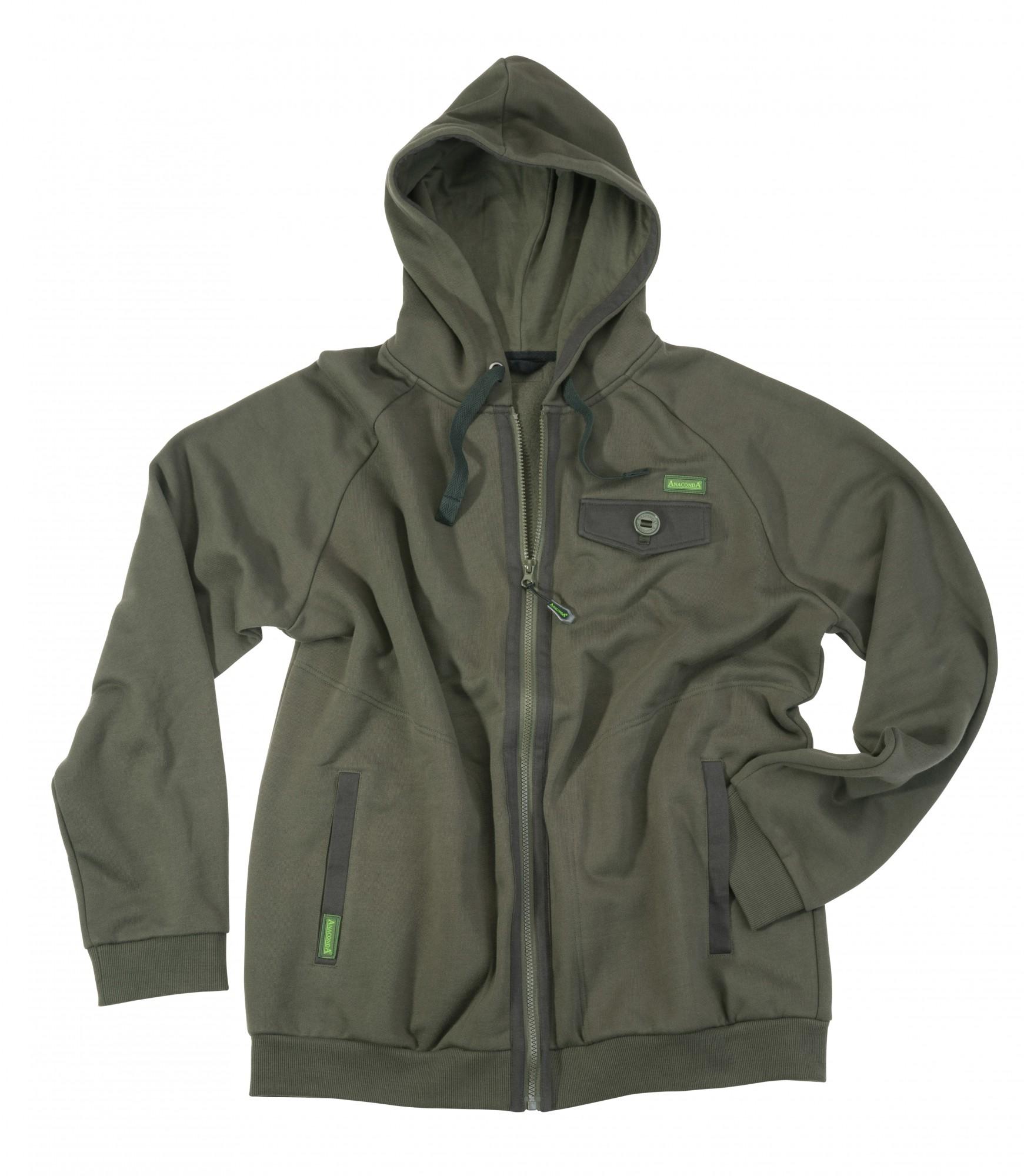 anaconda-nighthawk-zipper-hoodie-m-kaputzen-pullover