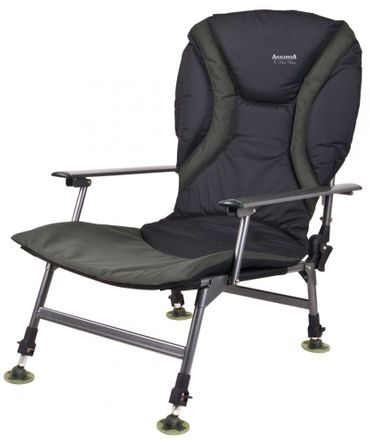 ANACONDA Vi Lock Lounge Chair Angelstuhl Karpfenstuhl 160kg belastbar Stuhl – Bild 1