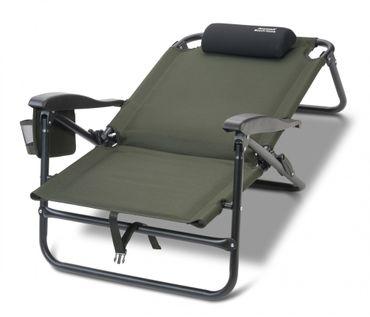 ANACONDA Beach Hawk Angelstuhl Karpfenstuhl 130kg belastbar Stuhl – Bild 3