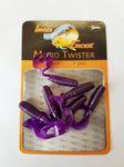 Iron Trout Micro Twister 4cm Forellen oder Barsch Gummiköder  001