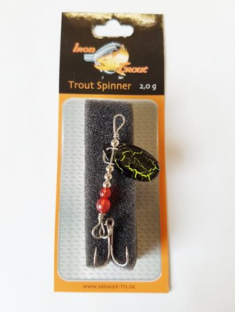 Iron Trout Trout Spinner 2g Forellenspinner – Bild 1