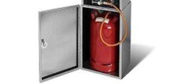 SMOKI Unterbau /Ständer mit Tür aus FAL Stahlblech für Räucherofen