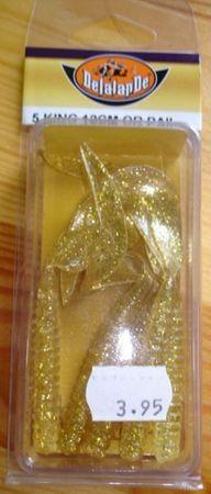 Delalande Twister 5 Stück 12 cm gold-glitter