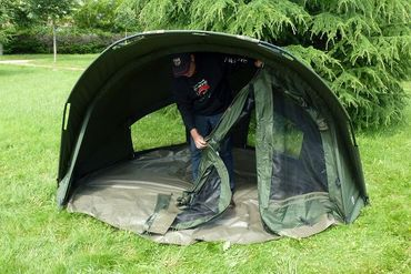 Ehmanns PRO-ZONE SX 1 1 Man Bundle Zelt und Überwurf Overwrap – Bild 4