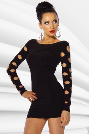 Mini-Kleid schwarz – Bild 1