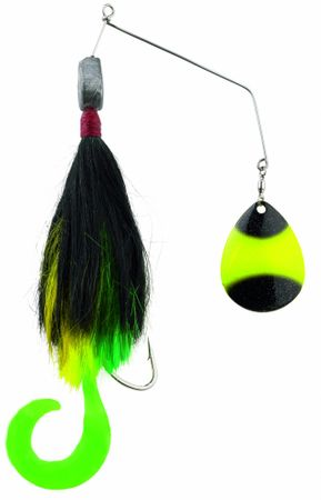 Iron Claw Dizzy Bucktail Spinnerbait Hechtköder – Bild 2