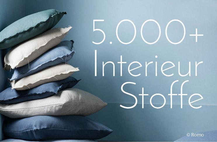 5.000+ Interieurstoffe