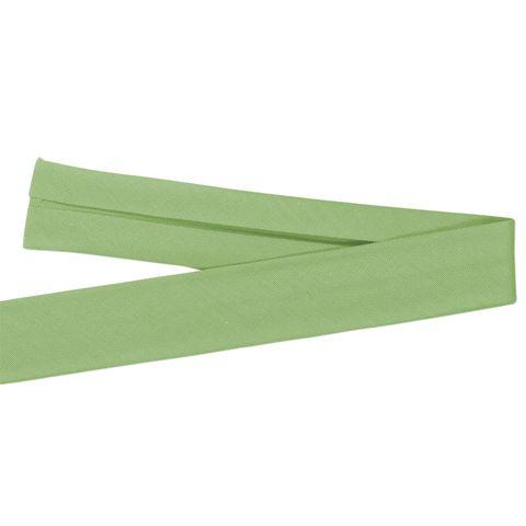 Bio Baumwolle Schrägband hellgrün