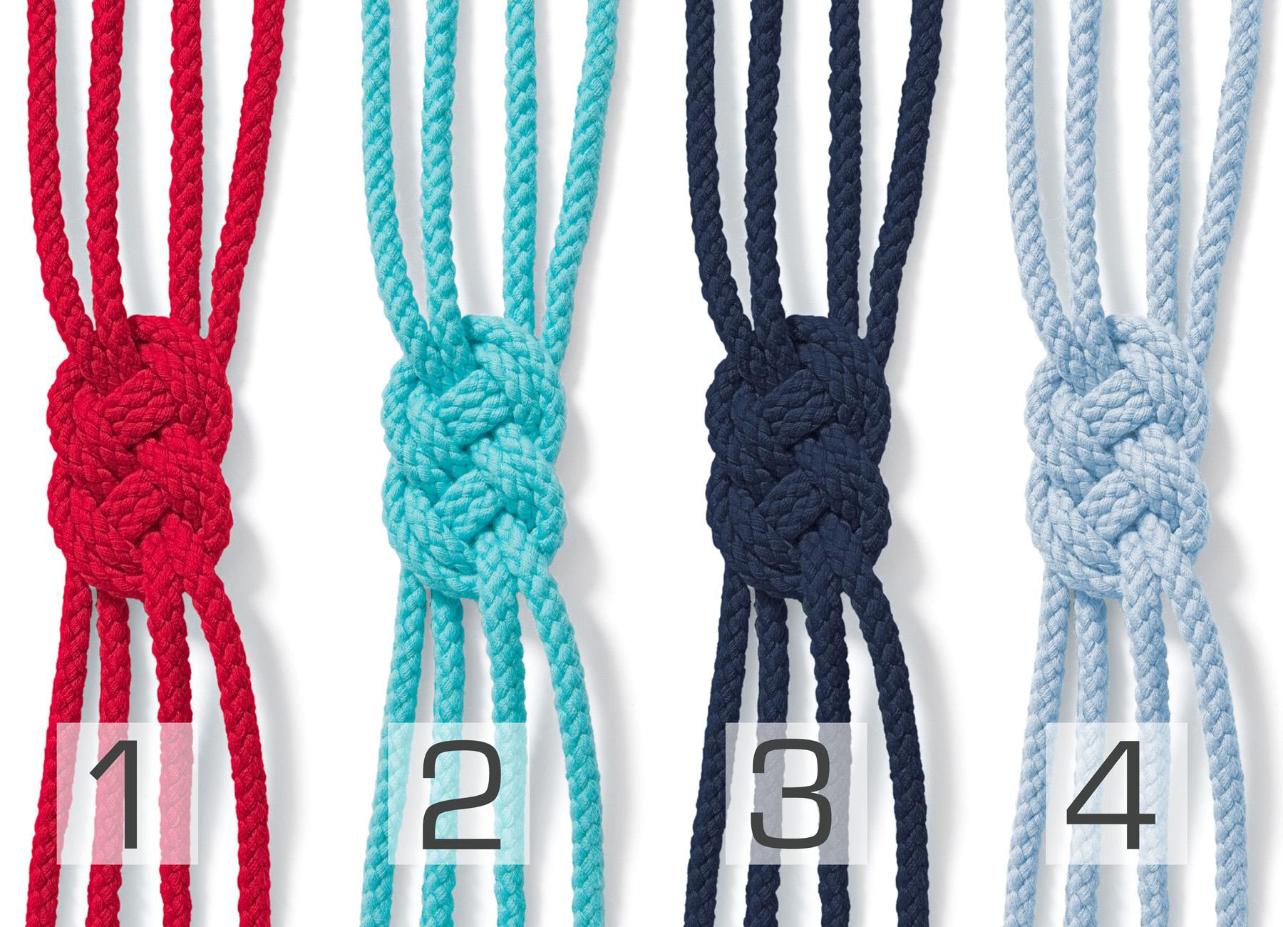 Bio Baumwolle Kordel 5mm geflochten rund, diverse Farben