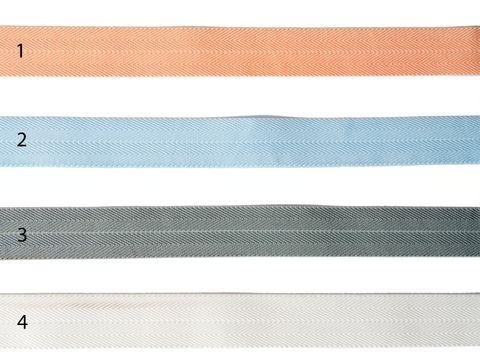 Gummiband Köperband Paspel Einfassband 2,5cm elastisch