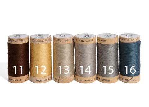 Nähgarn Bio Baumwolle GOTS Scanfil 275m, Garnstärke 120, 1 Stück