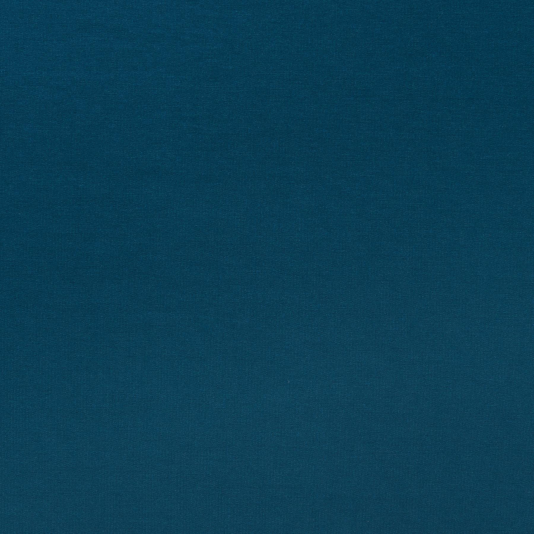 Petrol Blau Wandfarbe: Viskose Jersey Petrol Blau Uni