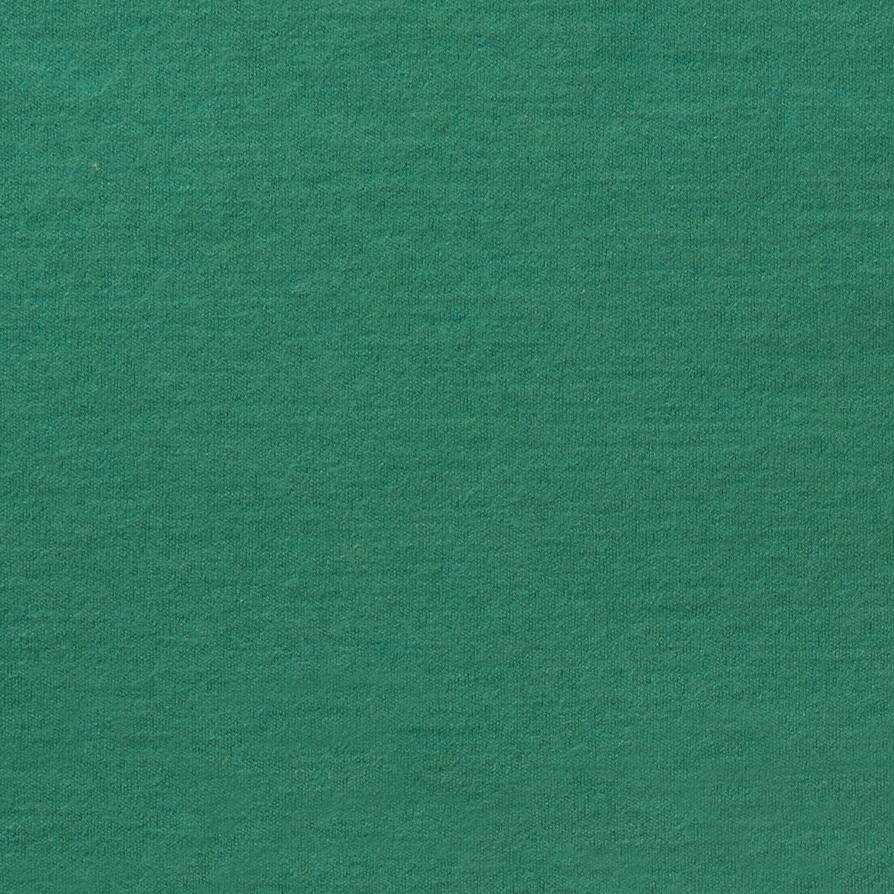 Schurwolle Jersey türkis grün