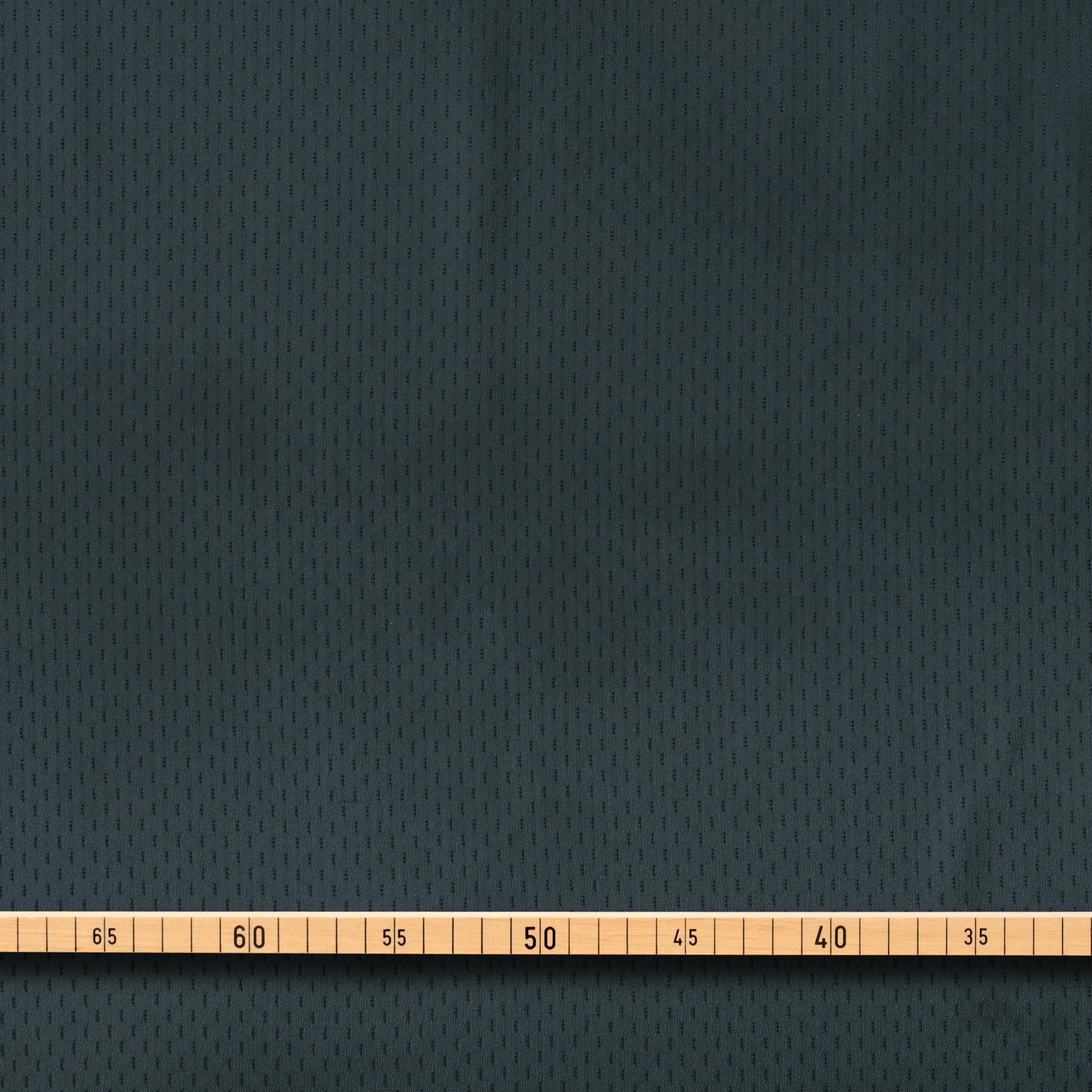 Futterstoff Viskose dunkelgrün Jacquard Streifenoptik