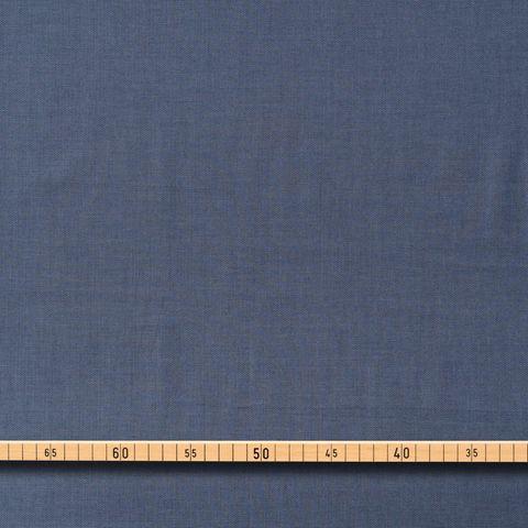 Baumwolle Chambray in blau und weiß