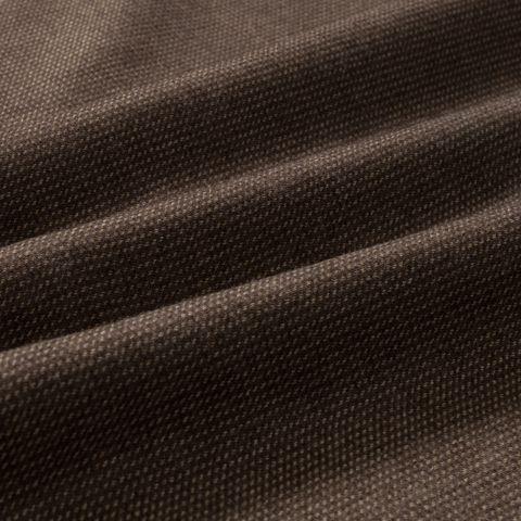Wollstoff Cashmere mit Seide in braun beige mit Diagonalstreifen