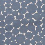 Baumwolle Leinen Canvas große graue Kreise 001