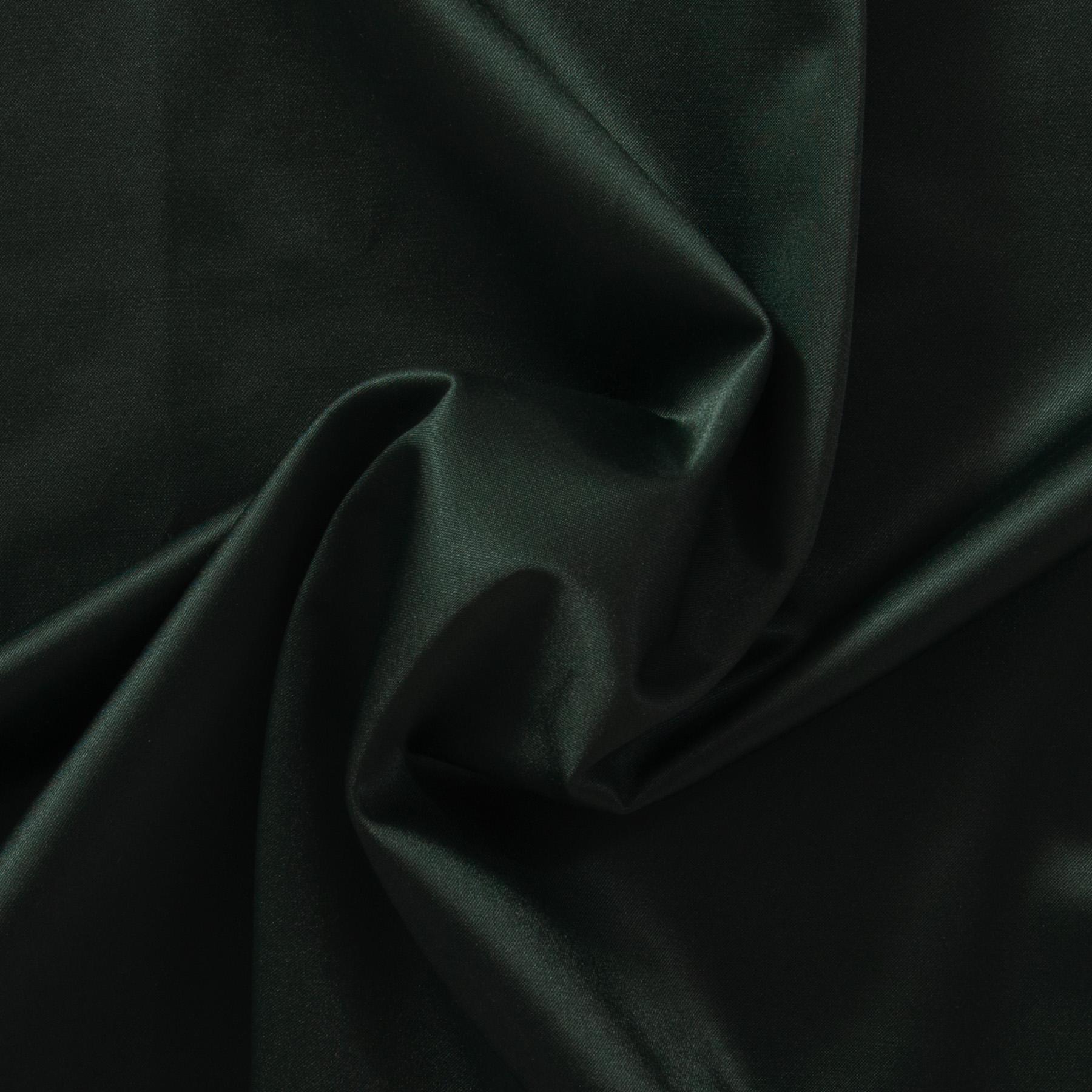 Baumwolle Satin dunkelgrün, uni