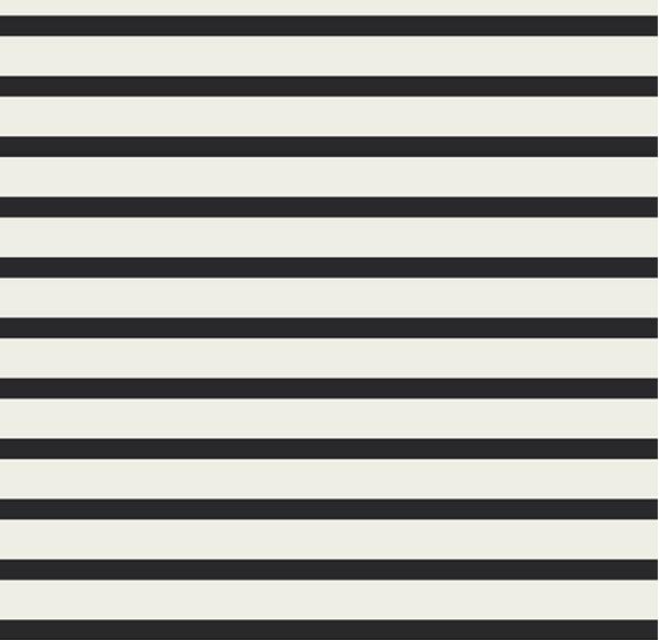 Viskose Voile Streifen in schwarz auf weiß