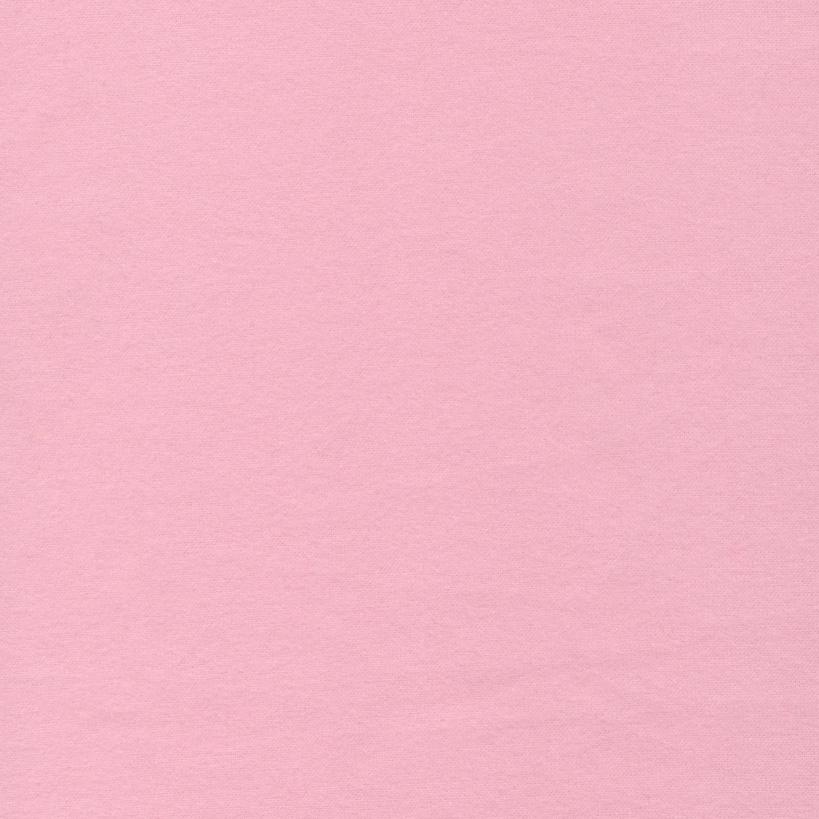 Bio Baumwolle Flanell uni rosa