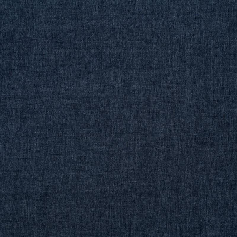 Leinenstoff indigo blau meliert