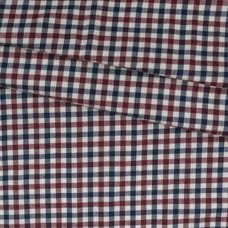 Flanell rot blau weiß kariert