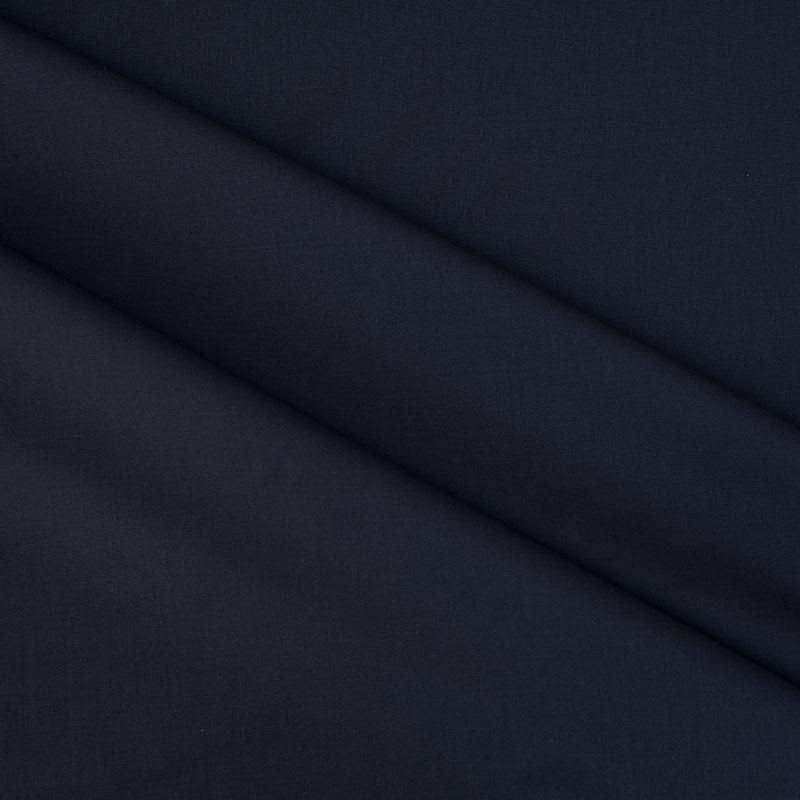 Anzugstoff aus Schurwolle dunkelblau
