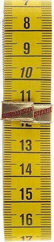 Maßband 150cm gelb