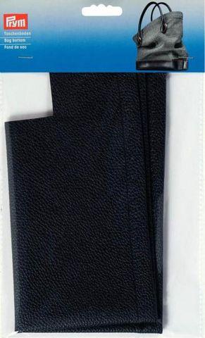 Kunstleder Taschenboden in blau