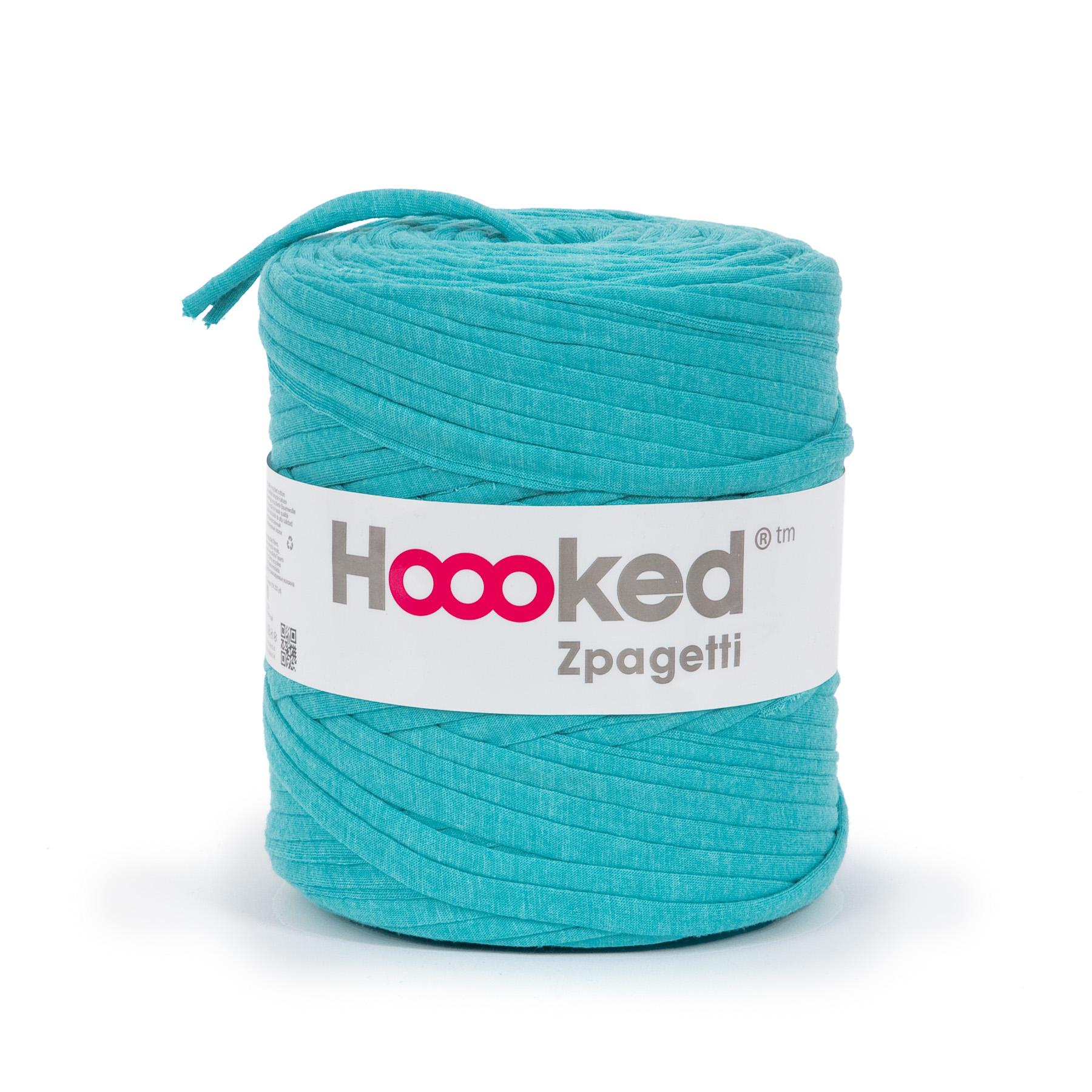 Hoooked Zpagetti Garn türkis