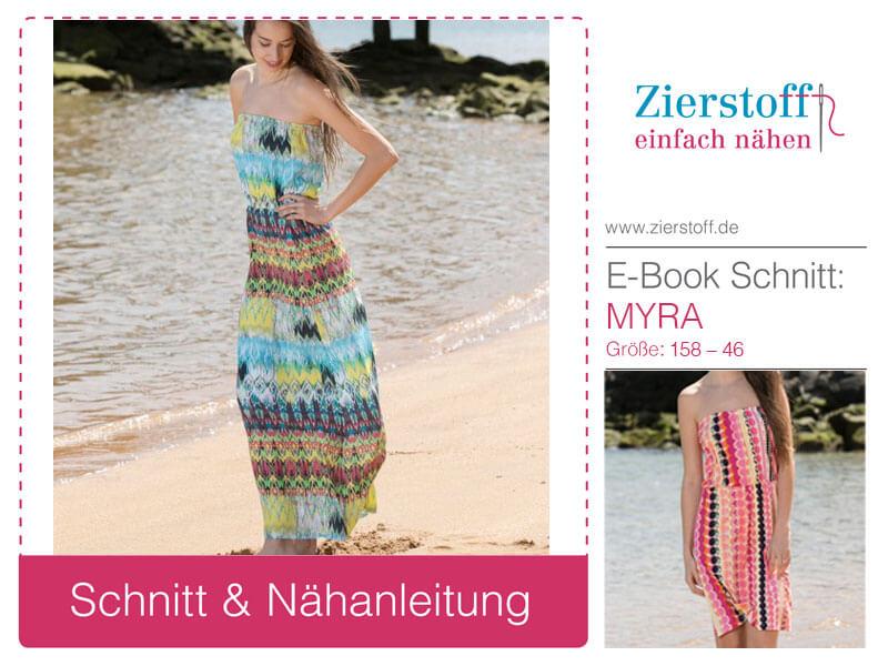 "Kleid ""Myra"", Gr. 158 – Damengr. 46 – lang und kurz"