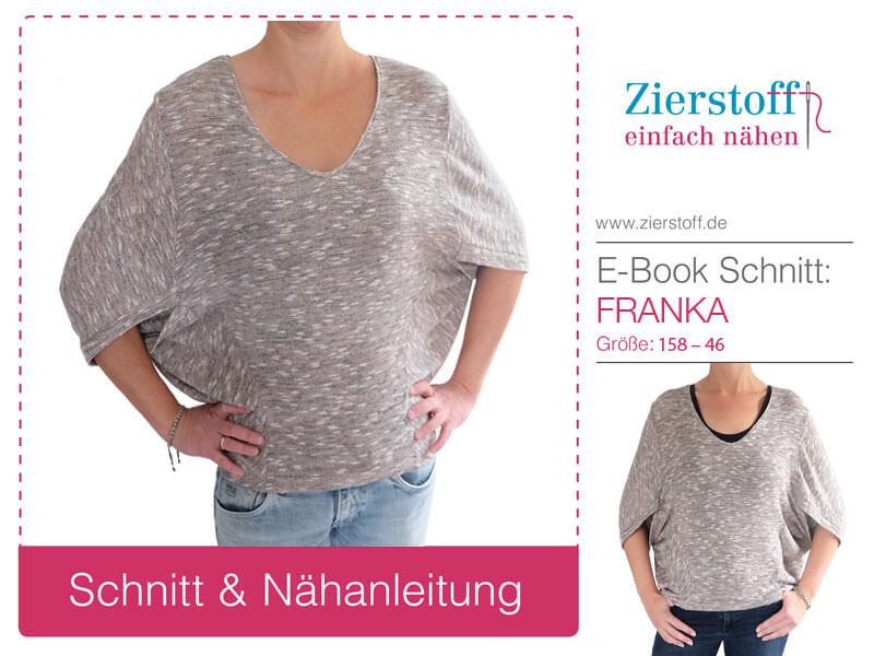 "Shrug, Shirt ""FRANKA"", Gr. 158 – Damengr. 46"