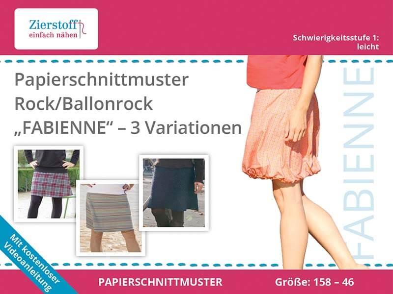 """PAPIERSCHNITTMUSTER, Rock / Ballonrock """"FABIENNE"""""""