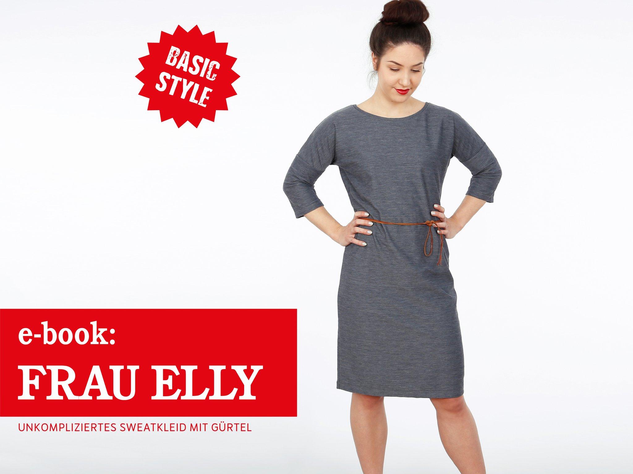 FRAU ELLY • blitzschnelles Kleid mit Gürtel, e-book