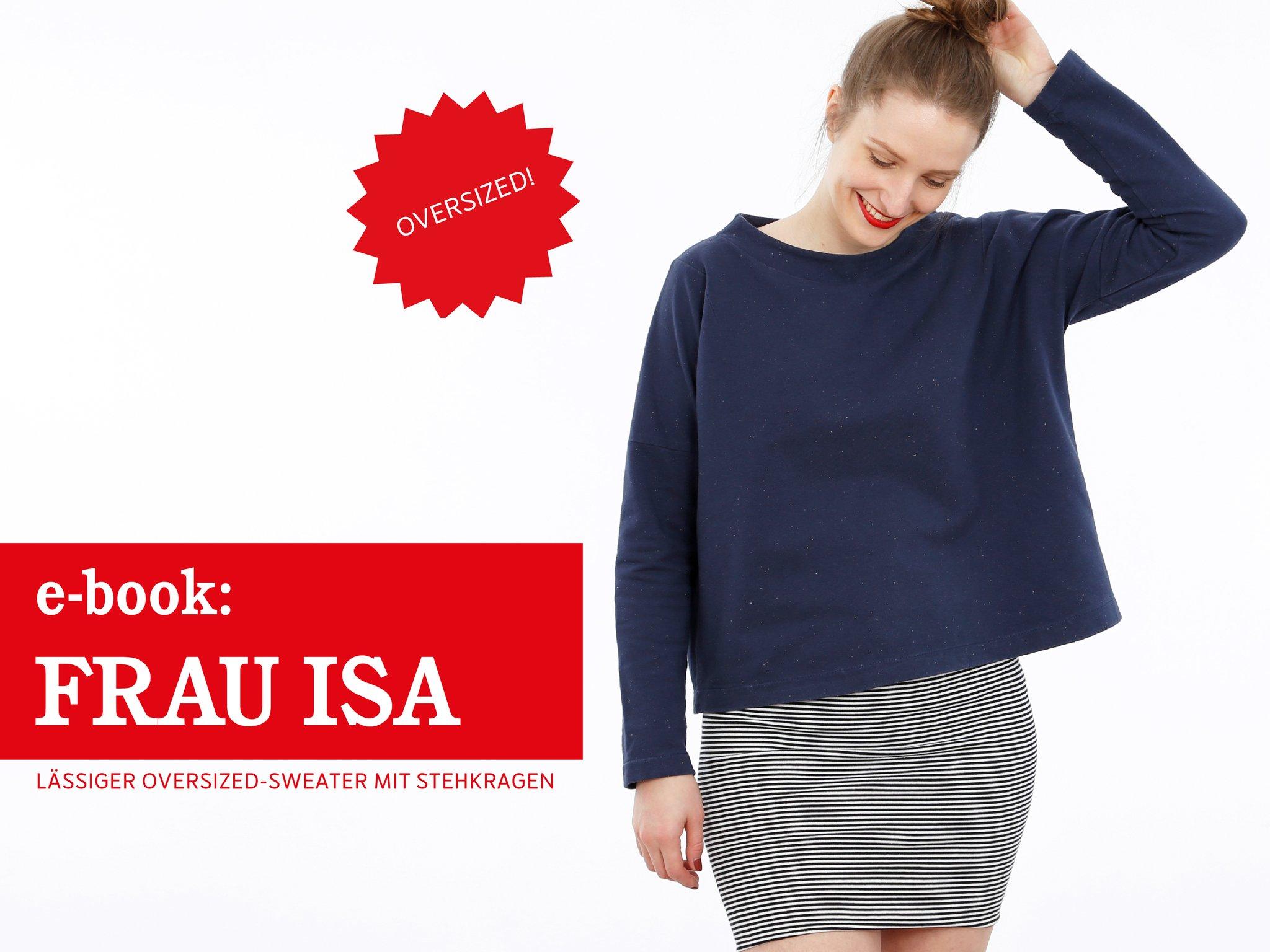 Frau ISA • Oversized Sweater, e-book