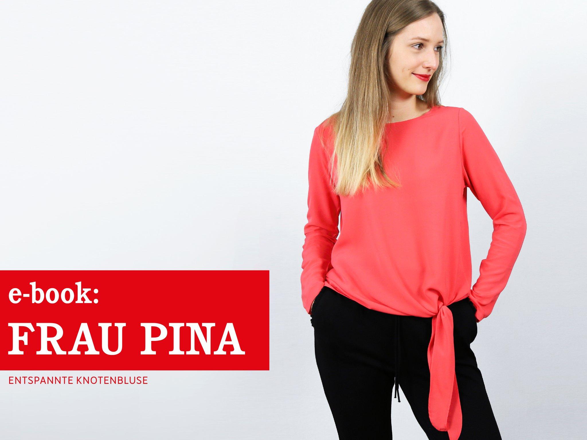FRAU PINA • entspannte Knotenbluse, e-book