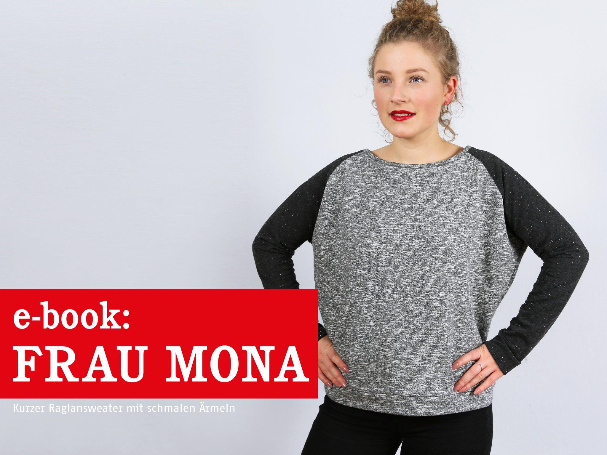 FRAU MONA • Raglansweater, e-book